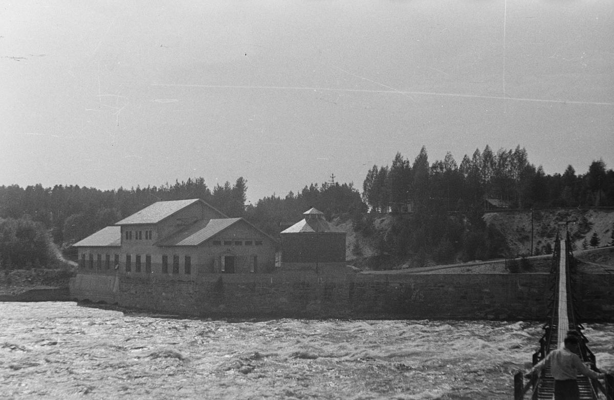 Skjefstadfossen kraftstasjon. Heradsbygda, Elverum.