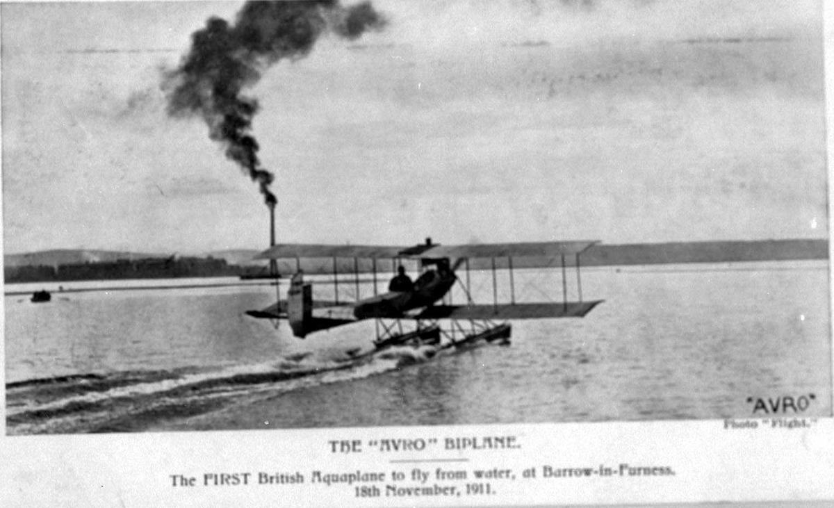 Ett fly på vannet, Avro Type D.