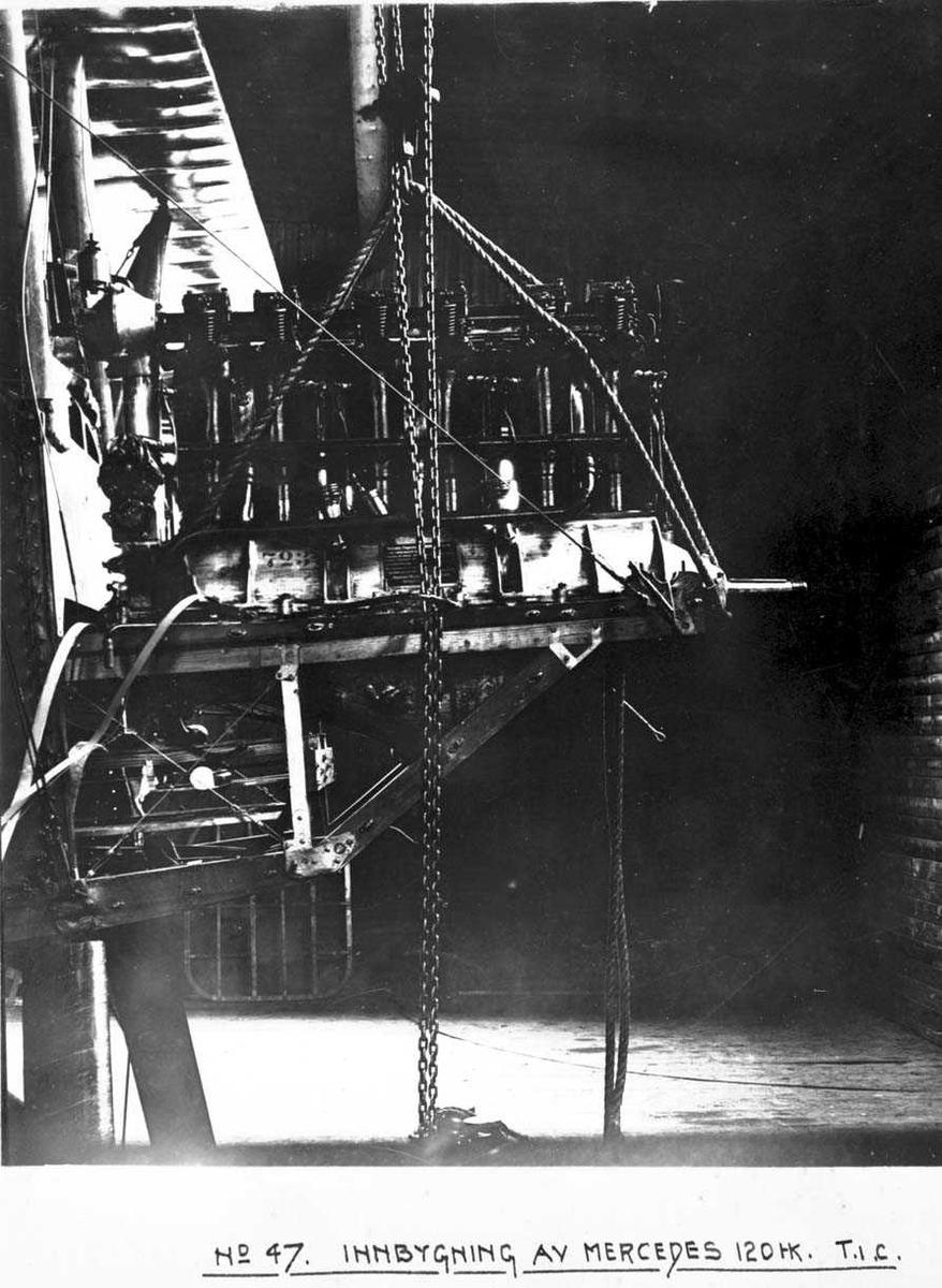 Flymotor, Mercedes, til F.F.5. T.1.C.