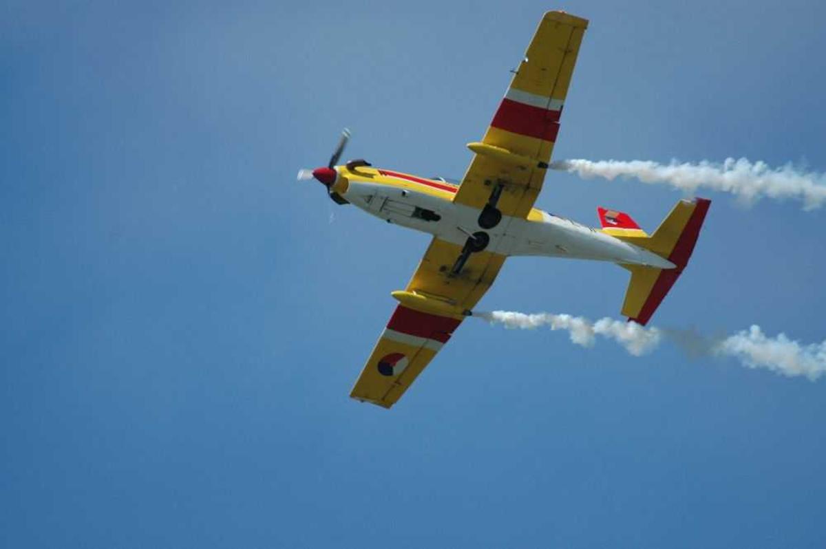 Ett fly i luften. Pilatus PC-7C Turbo
