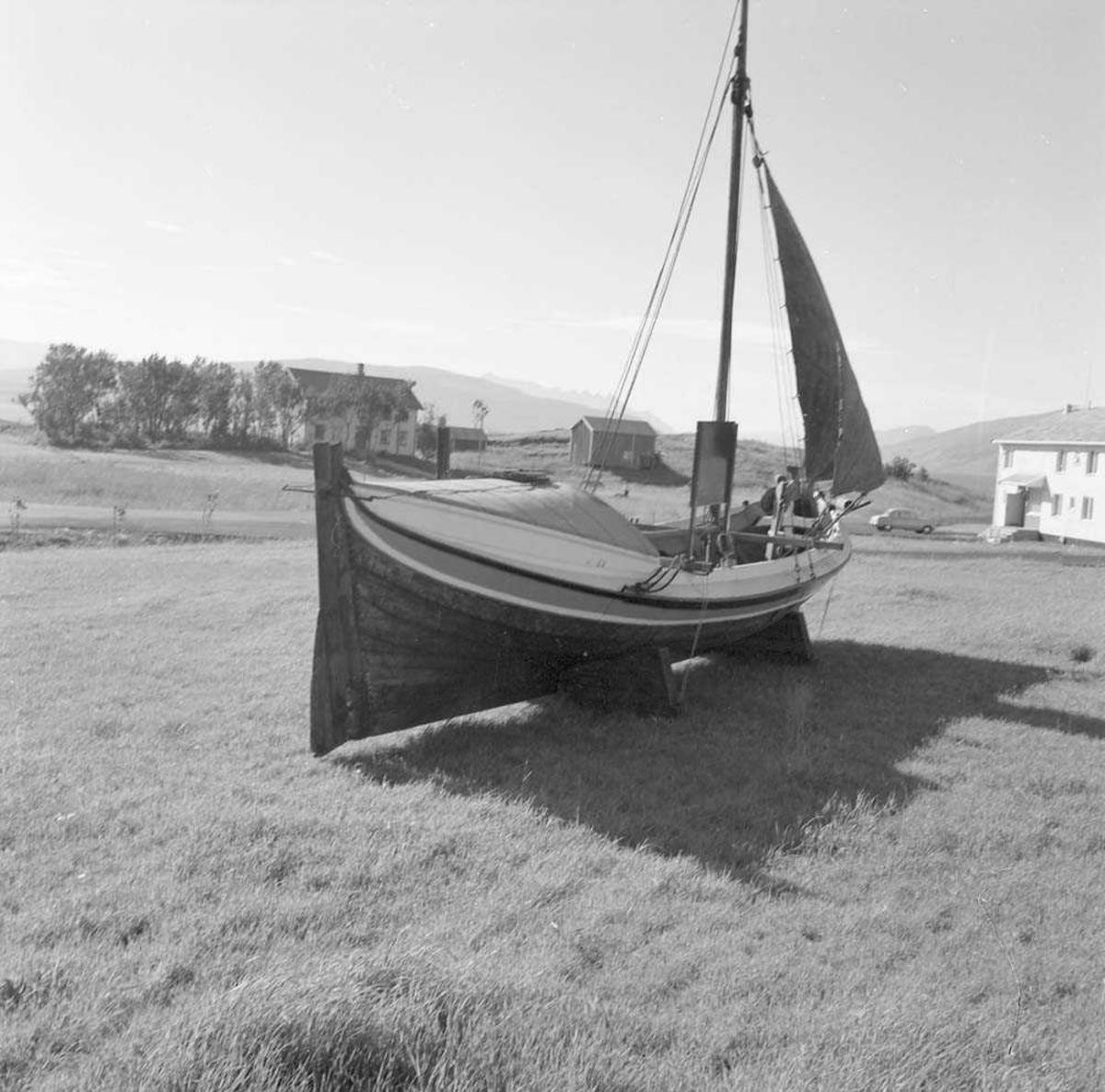 Nordlandsbåten ved Messe I, Bodø flystasjon.