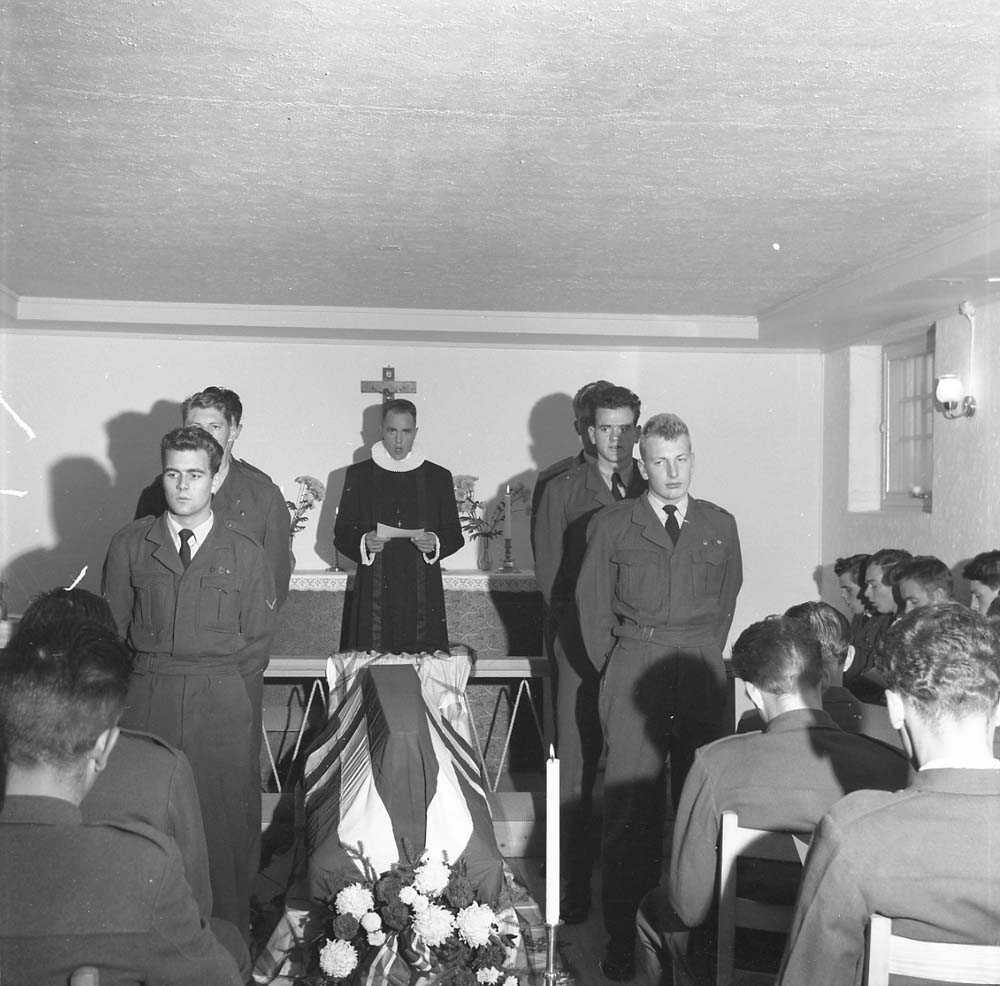 Begravelsen til Bringeland.