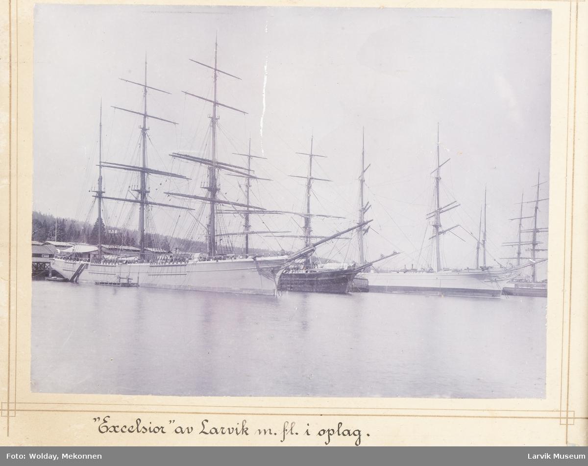 """""""Excelsior"""" av Larvik m.fl. i opplag."""