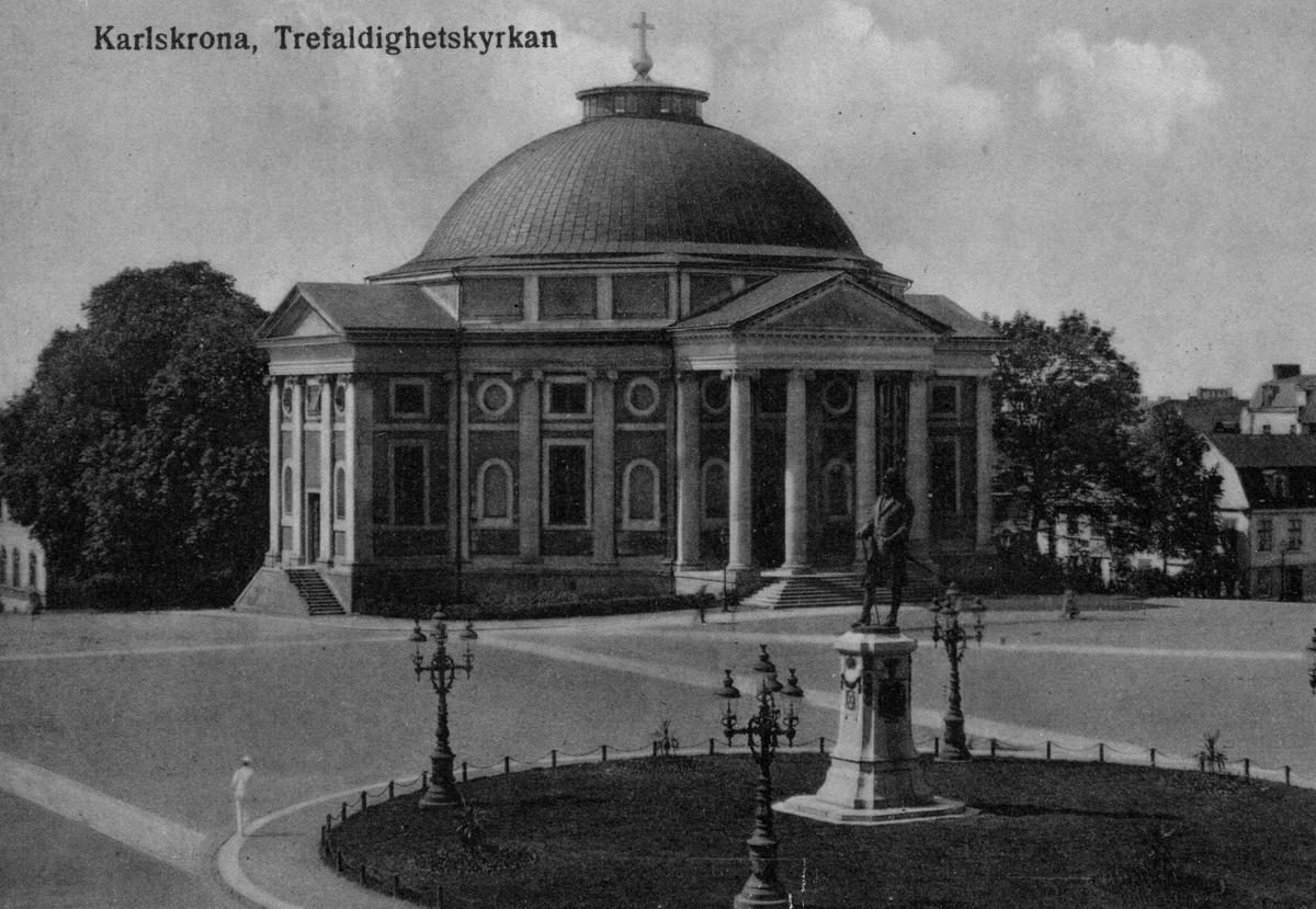 Övrigt: Karlskrona Trefaldighetskyrkan 1920-talet.