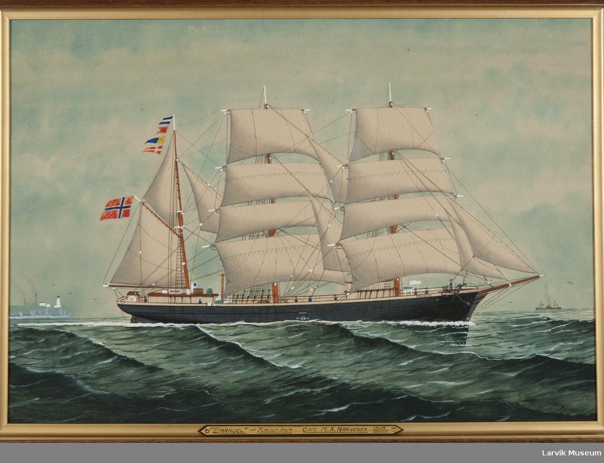 Barken Emanuel av Kristiania