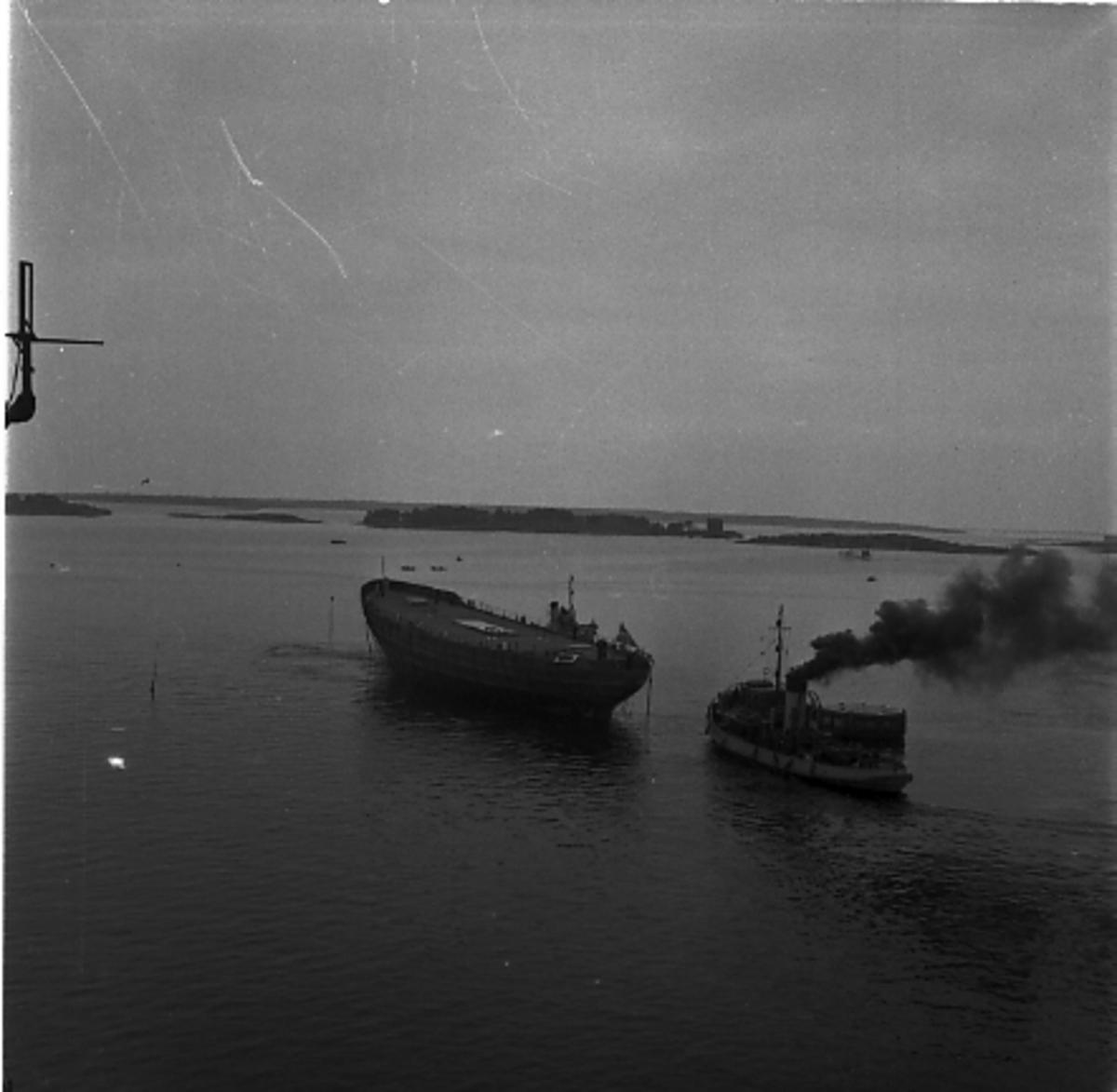 Fartyg: THULE                           Övrigt: Isbrytaren Thules sjösättning