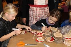 Juleverksted 2014 på Berg-Kragerø Museum i regi av Kragerø H
