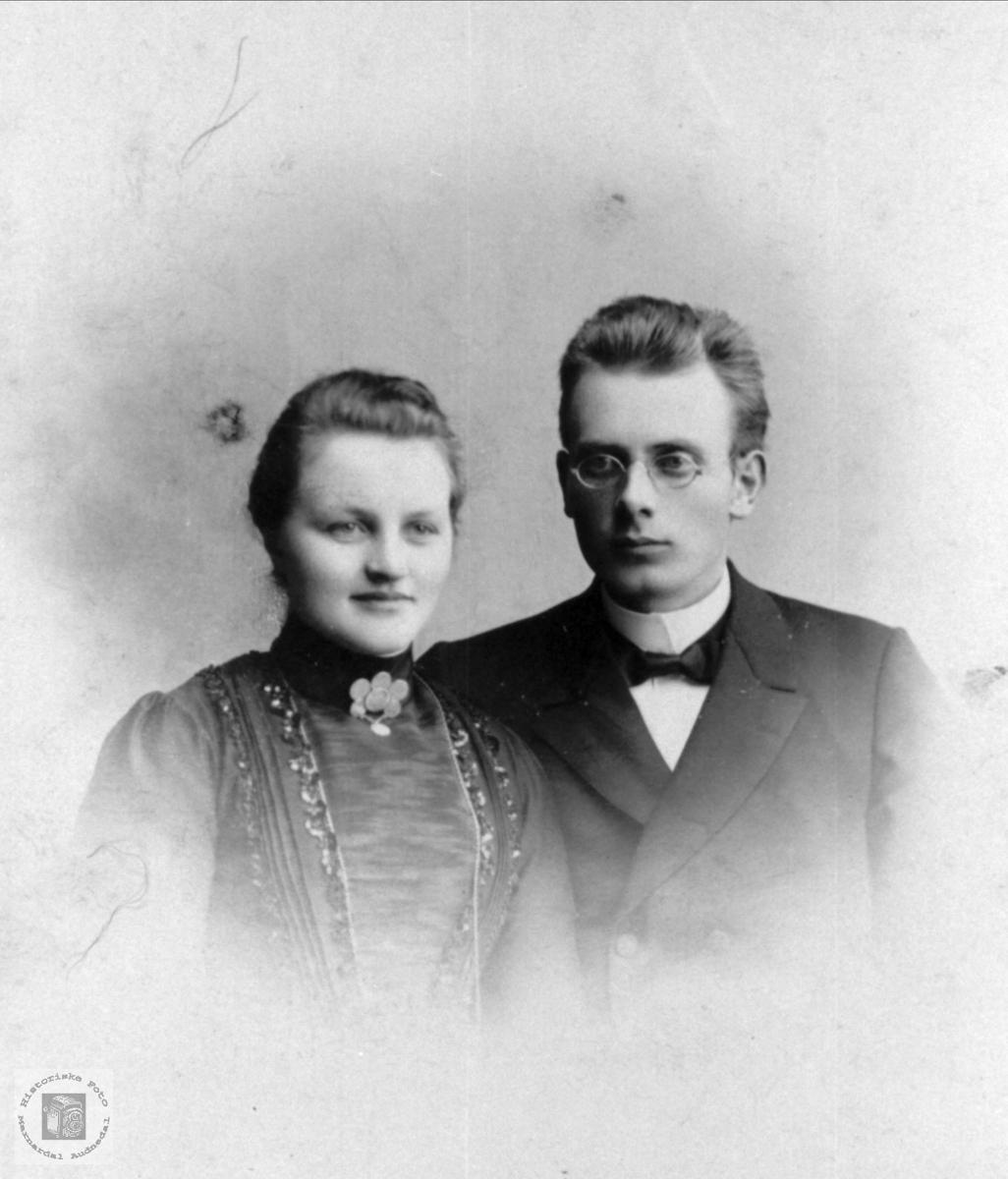 Ekteparet Anna Martha og Tallak Nome