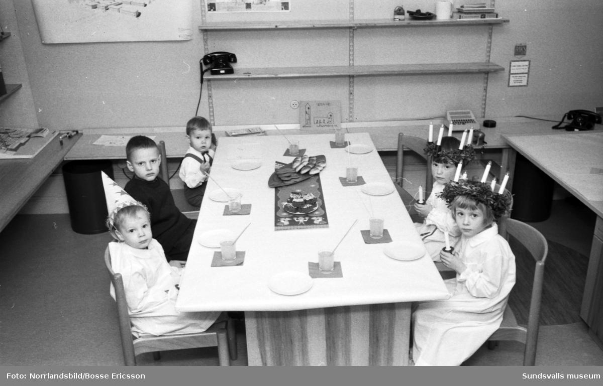 Thurfjells barnfest/luciafest.