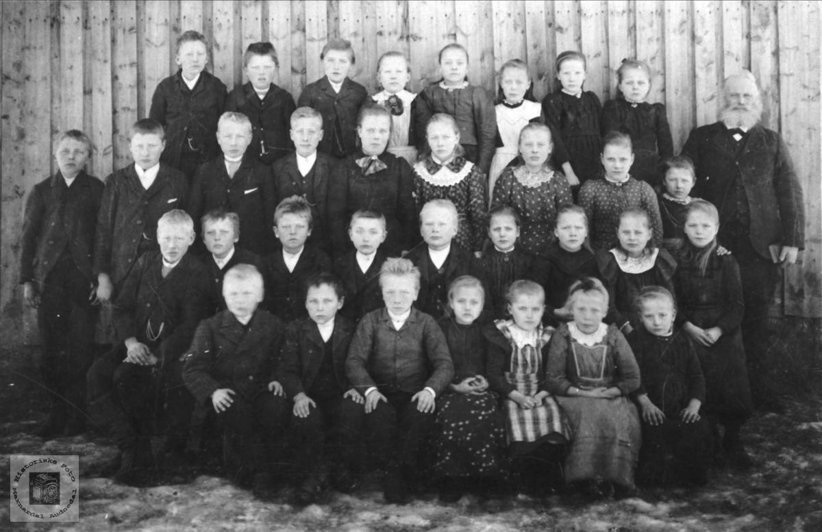 Skolebilde fra Tjomsland