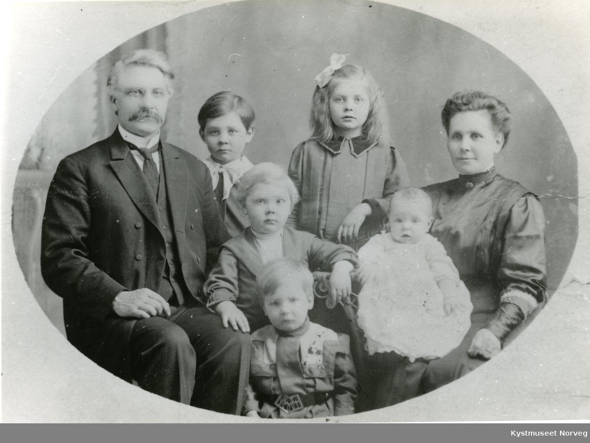 Familien Wilhelm Pettersen Hagen