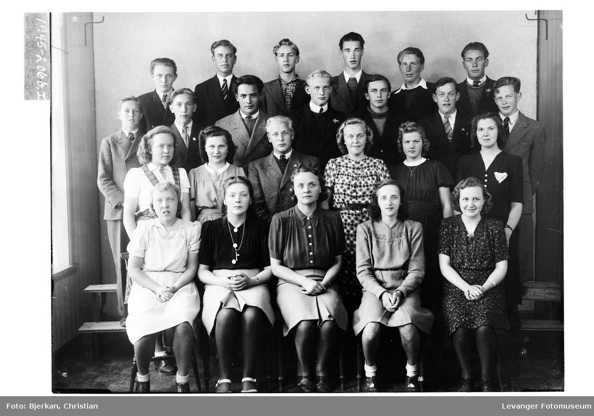 Levanger Realskole, 2. klasse