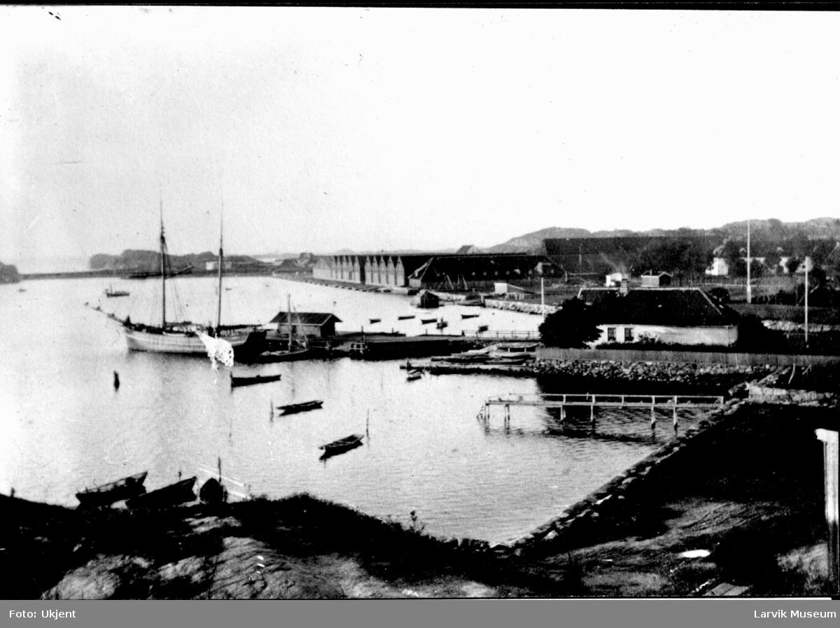 havnemotiv, brygger, Stavern havn