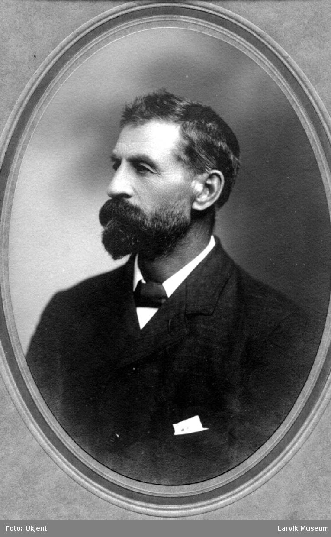 portrett, mann, kapt. Jacobsen