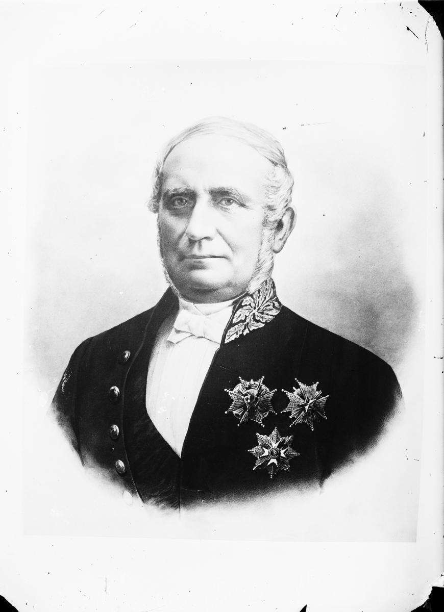 E J Sparre,  Landshövding  Vänersborg