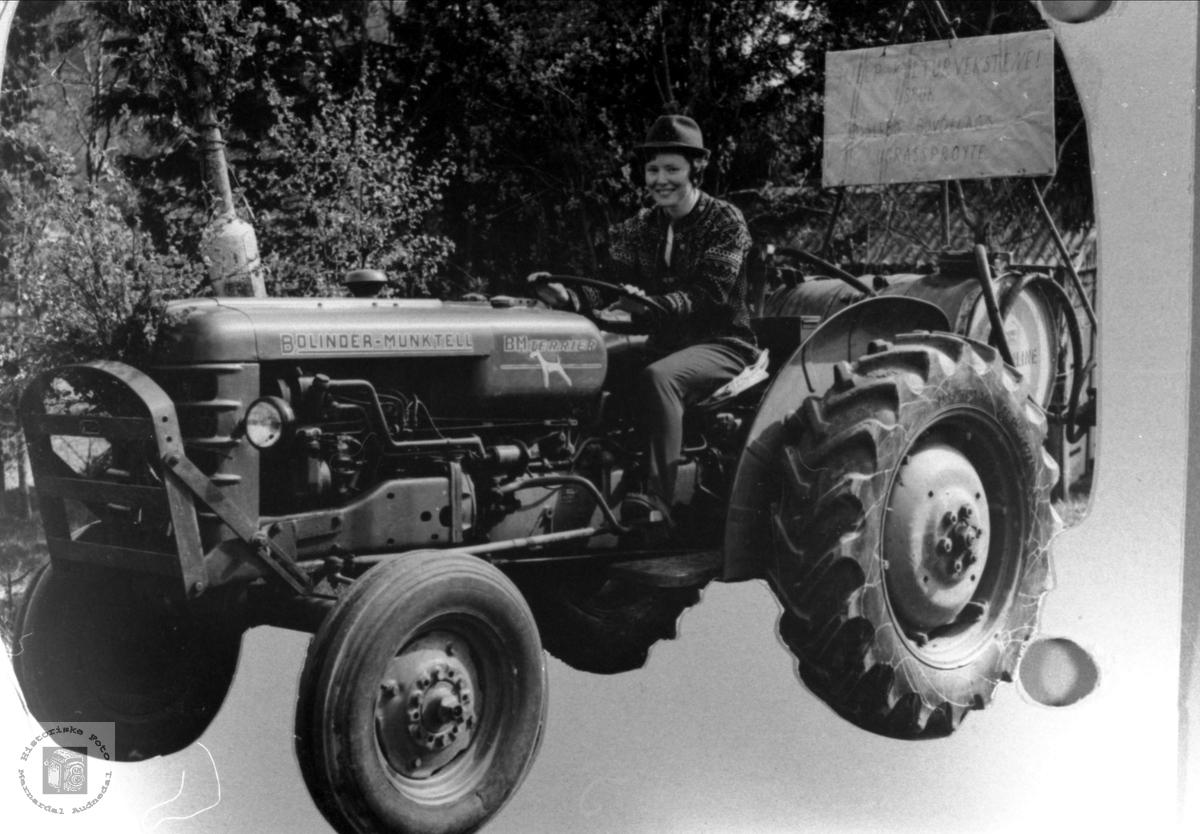 Traktor i 17. maitoget