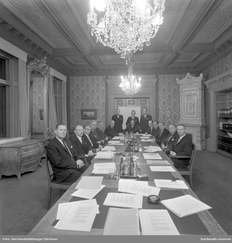 Drätselkammaren har möte i Hedbergska huset.