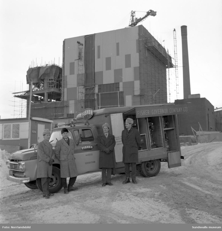 Elliott Automation. Servicebuss vid Svartvik.