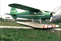 Sjøfly, LN-DBW, C-5 Polar ,Widerøes Flyveselskap. Utenfor No