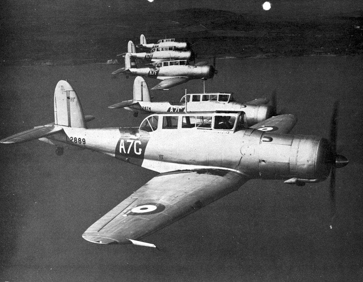 5 fly i lufta, Balckburn Skua A7G, A7C, A7F, A7H og A7L