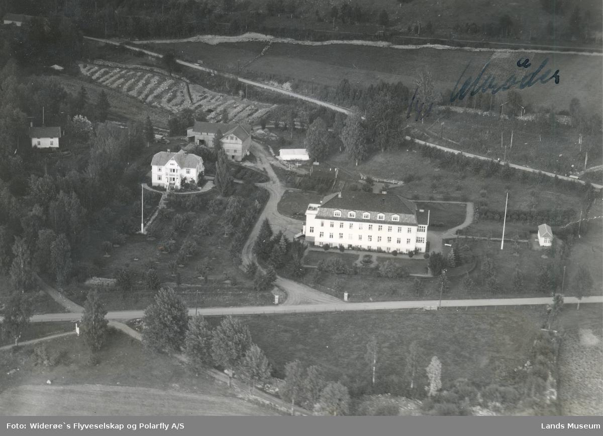 Flyfoto Hov sykehus