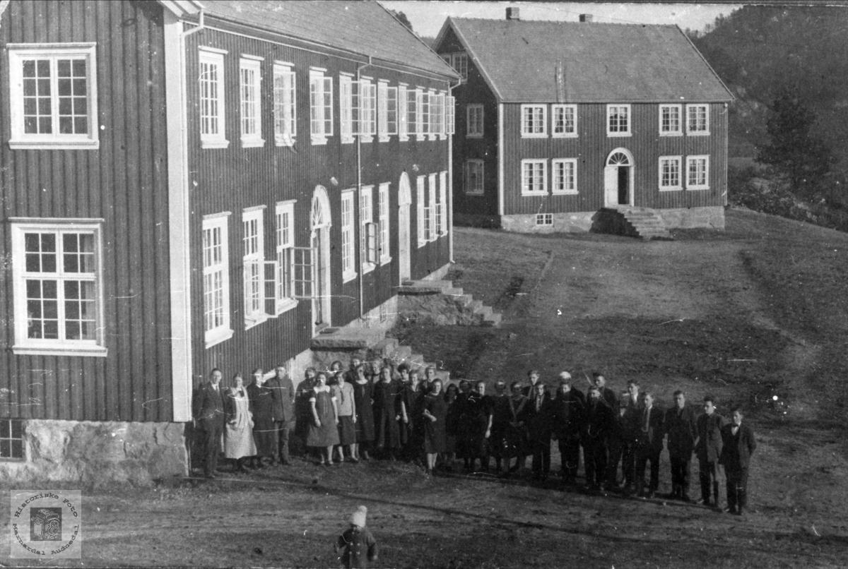 Marnar Folkehøyskole 1927