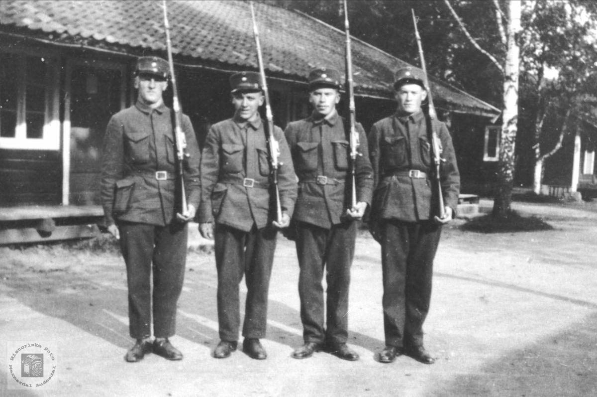 Fire soldater.