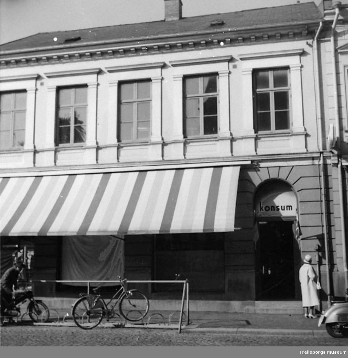 Konsum på Algatan år 1961
