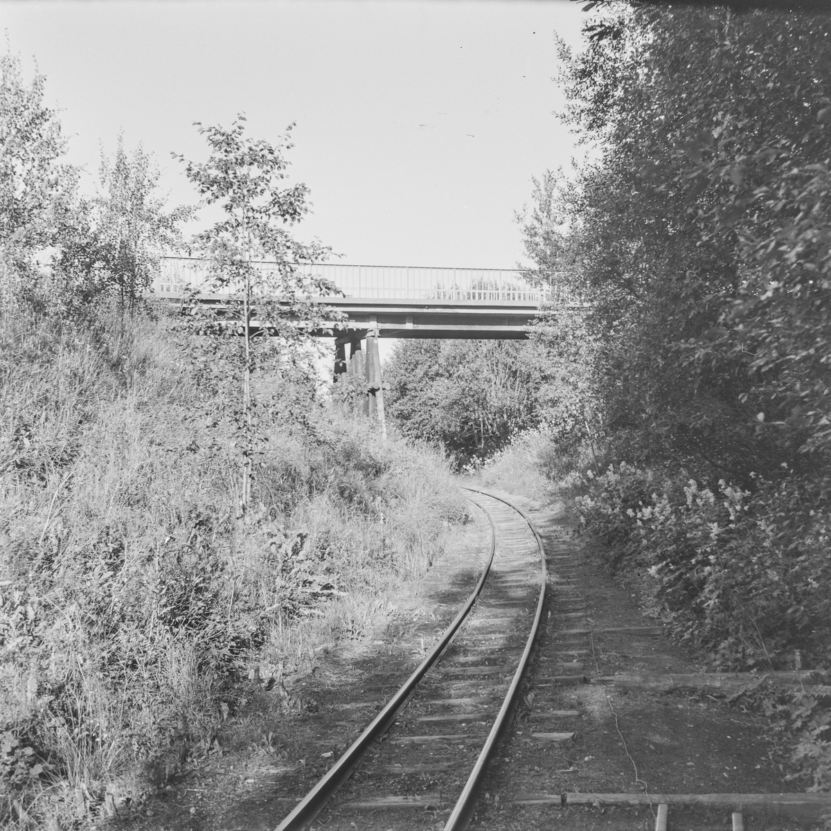 Tertittens spor og den gamle riksveibroen ved Fyen.