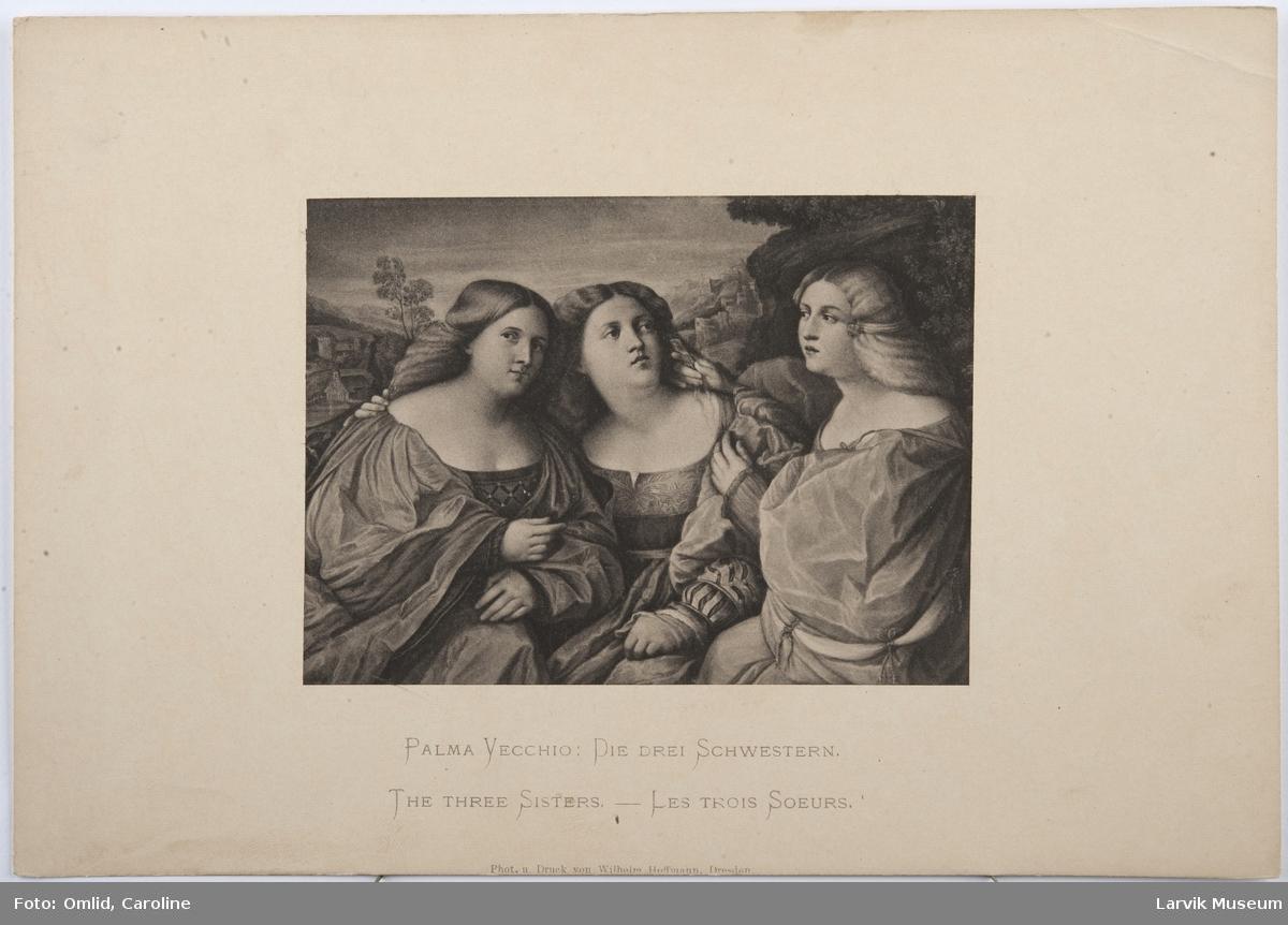 Palma Vecchio: Die Schwestern-