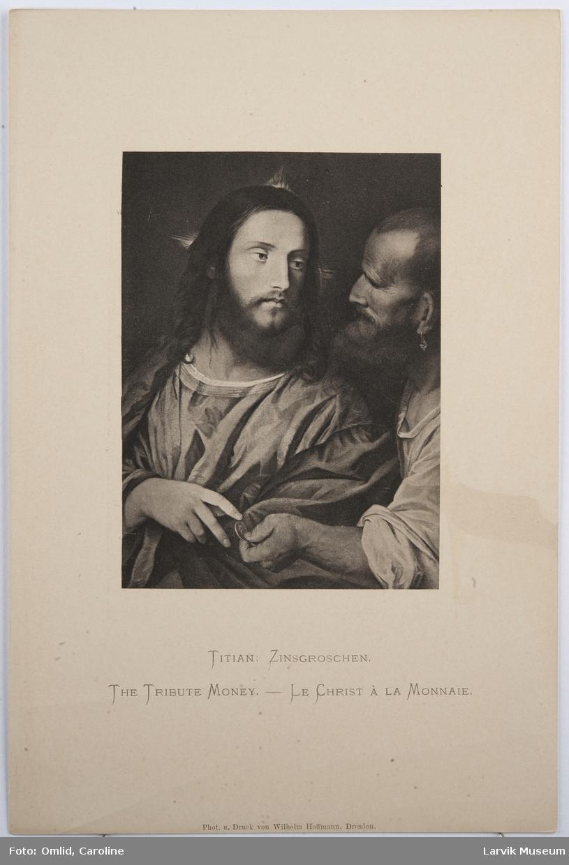 Titian: Zinsgroschen.
