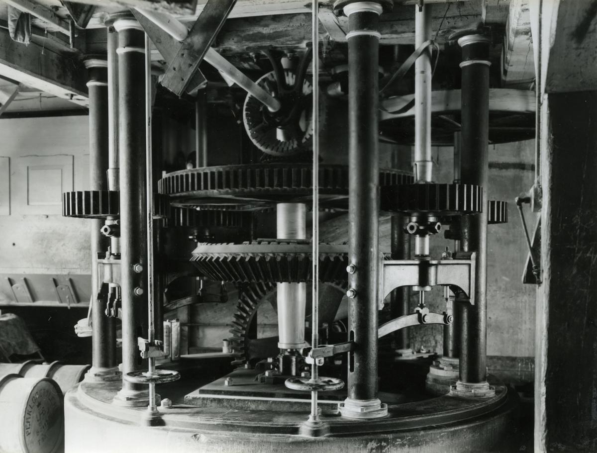 KRONOBAGERIET KARLSKRONA Maskineriet anlagt 1863.