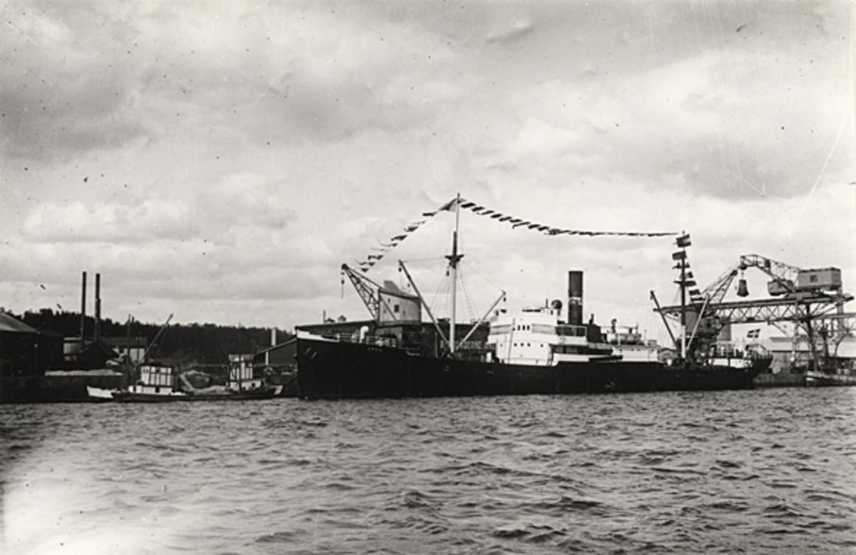 Lastångfartyget ARGO av Bremen.