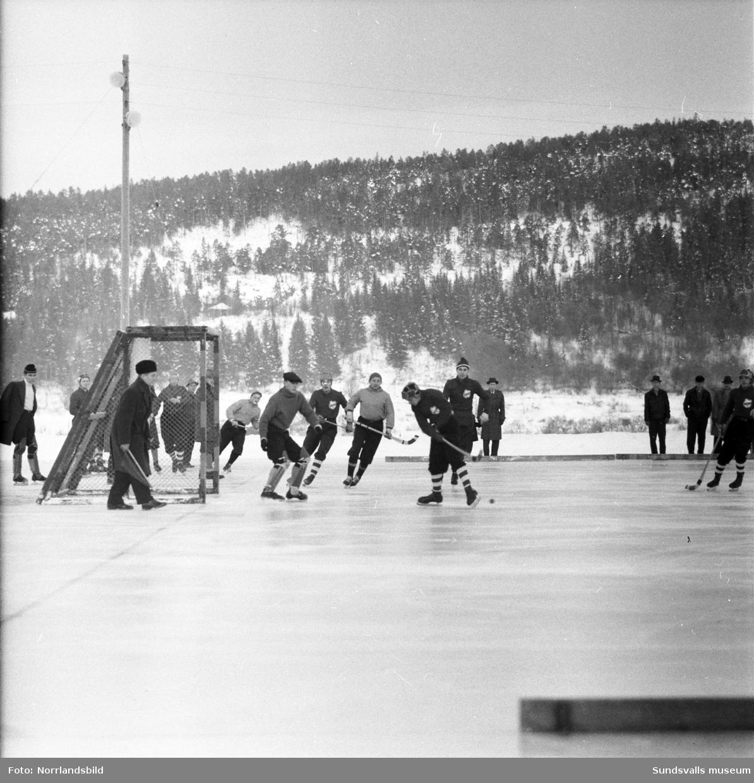 Bandymatch, Landslaget-Sundsvall 10-1.