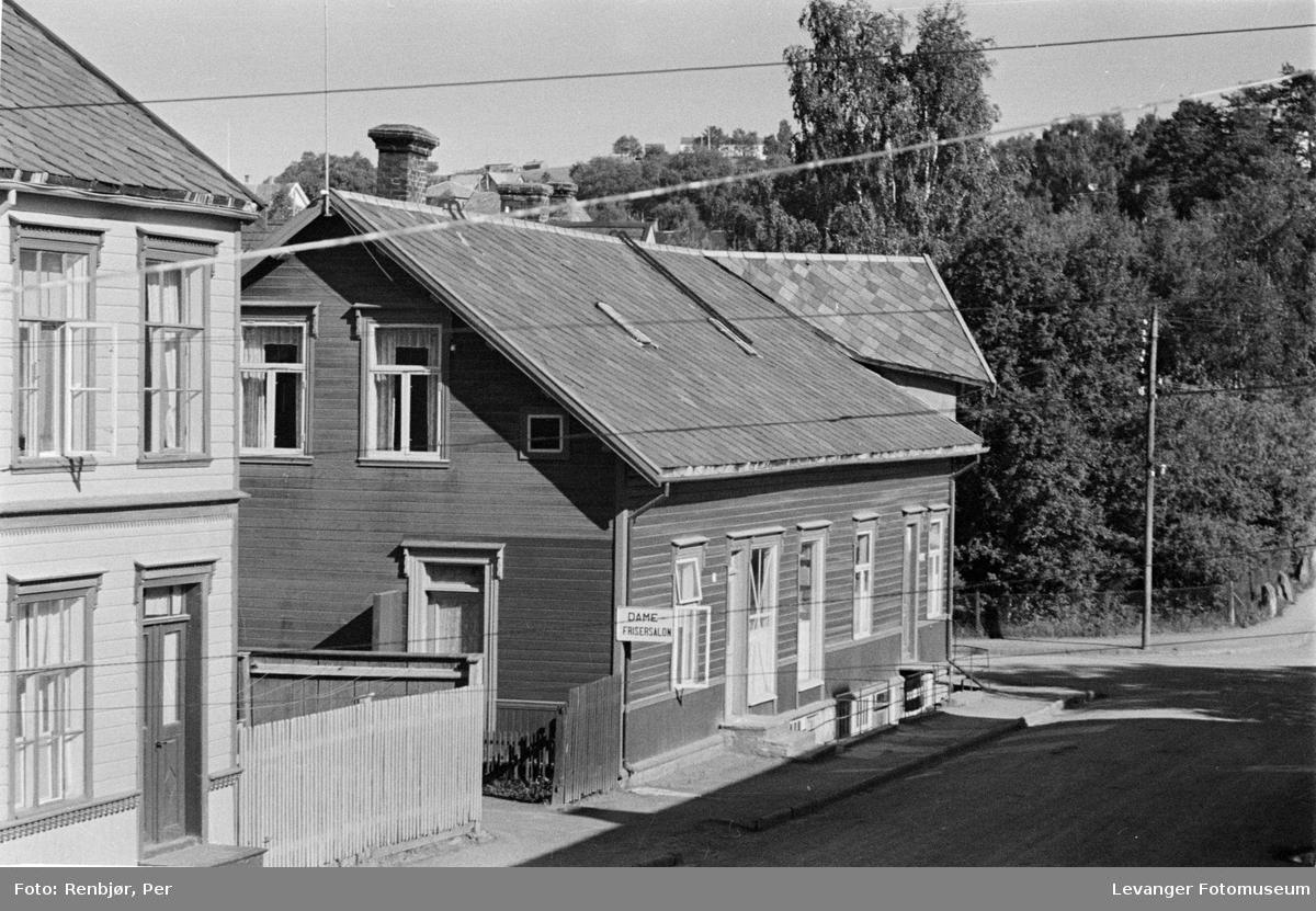 Utsnitt fra Brugata sommeren 1944