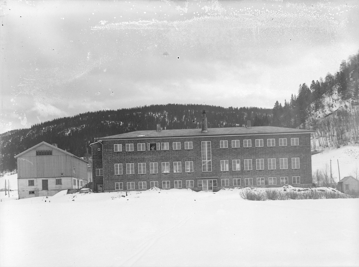 Leira skolehjem på Bjørkmyr