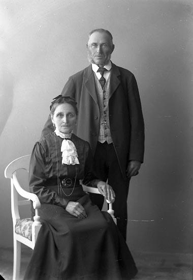 """Enligt fotografens journal nr 2 1909-1915: """"Andersson, A. Sanden, Ödsmål""""."""