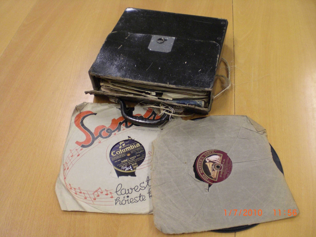 Grammofonplateeske