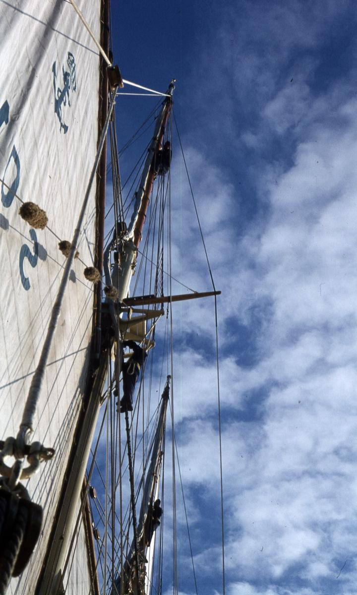 För fulla segel.