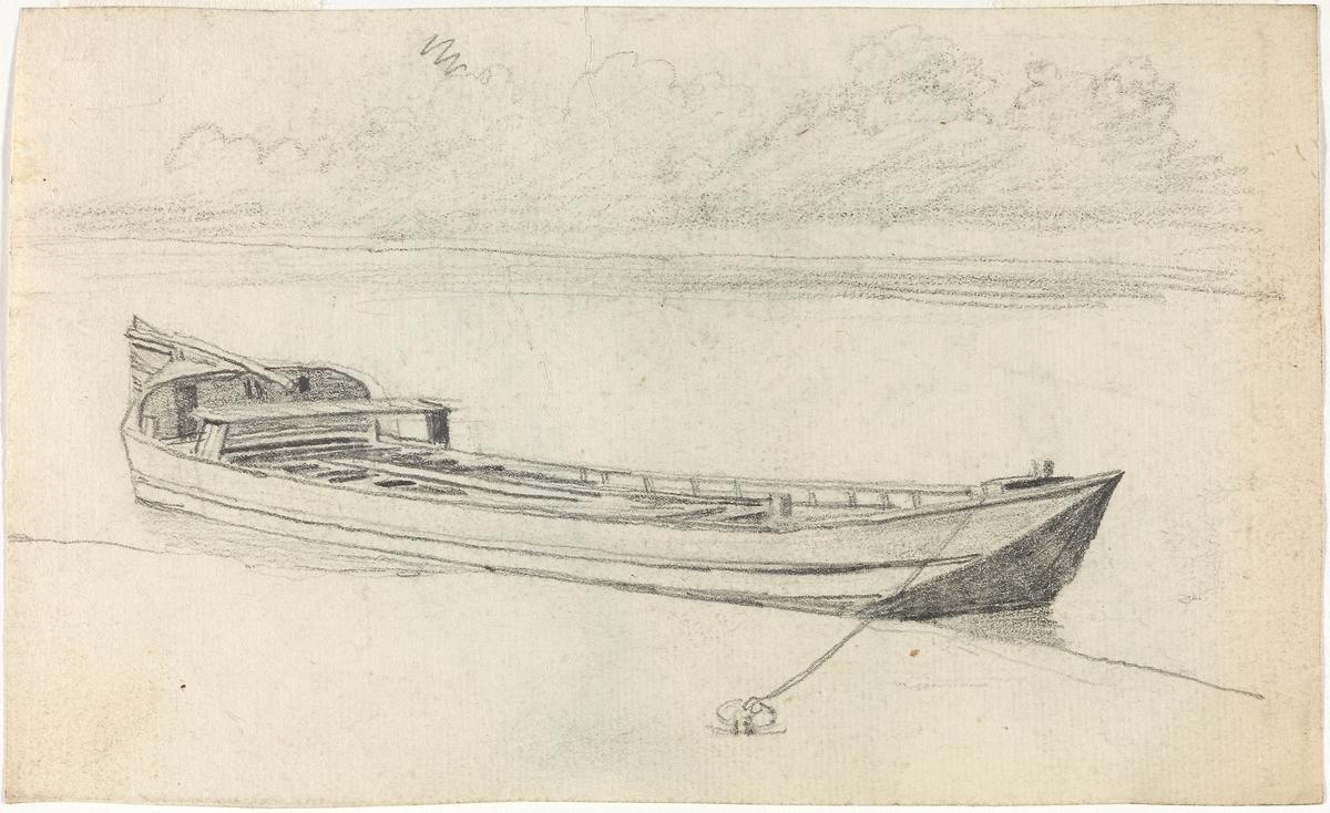 Elvebåt [Tegning]
