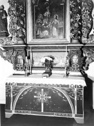 Antependium i Tegneby kyrka, Orust