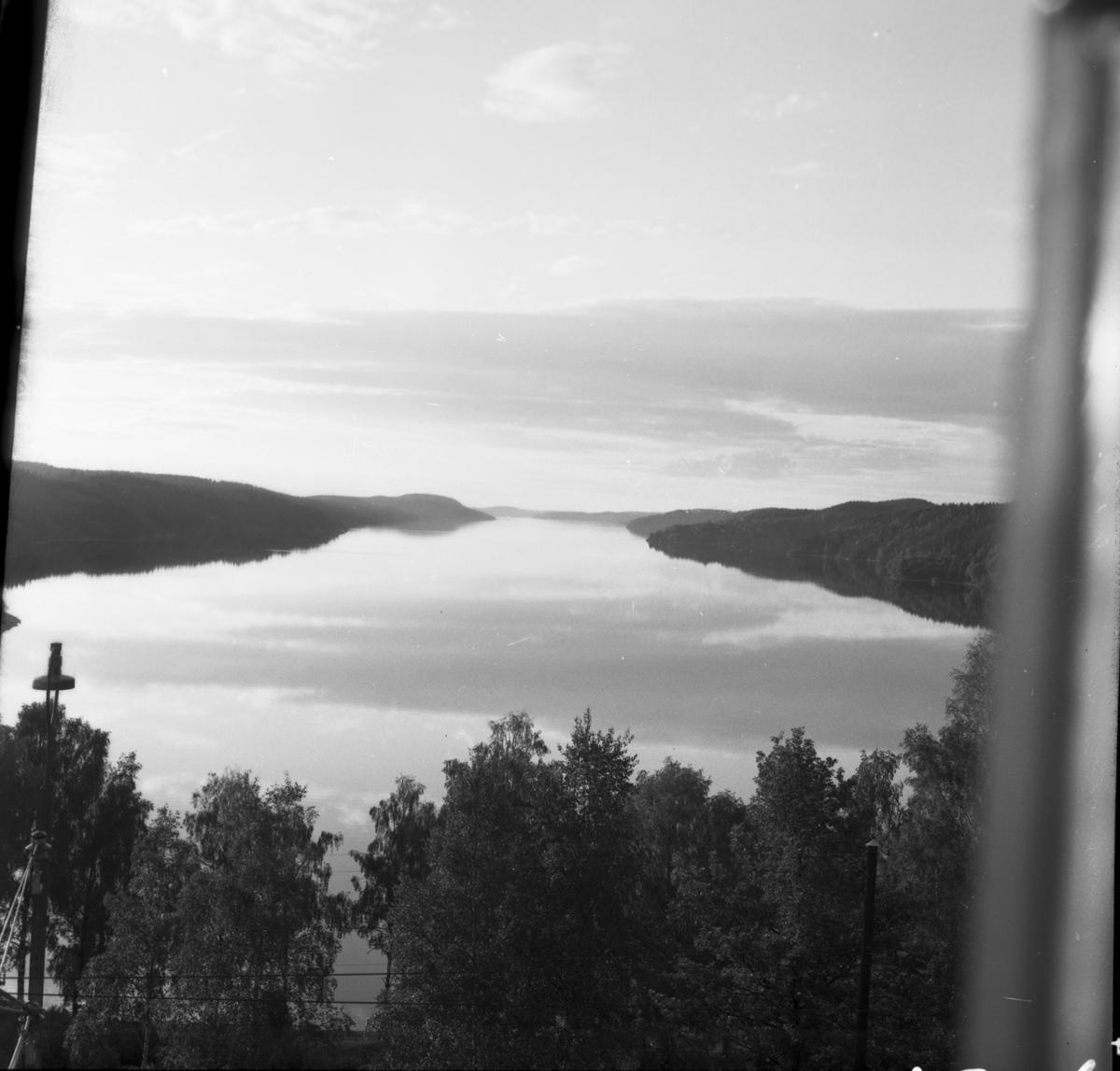 Utsikt över Stora Le. Dals-ed
