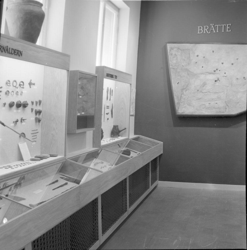 Fornsalen efter omändringen 1957. Vänersborgs Museum