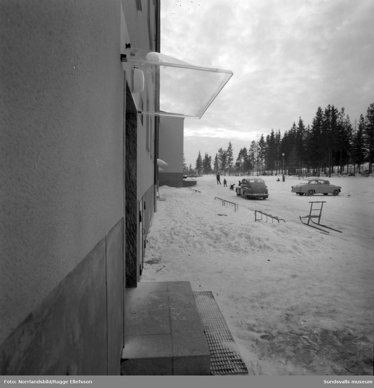Hyreslänga vid Appelbergsvägen i Bredsand