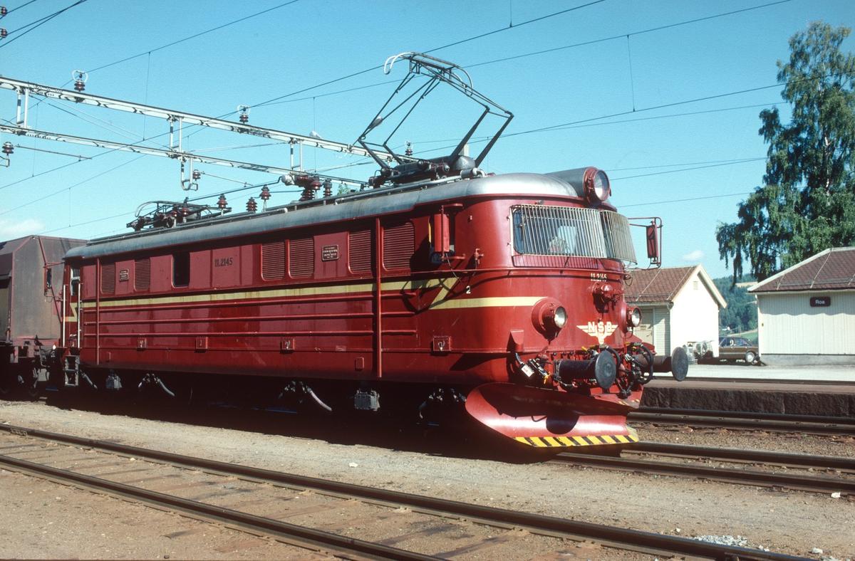 NSB elektrisk lokomotiv El 11 2145 (NEBB/ Thune 1963)