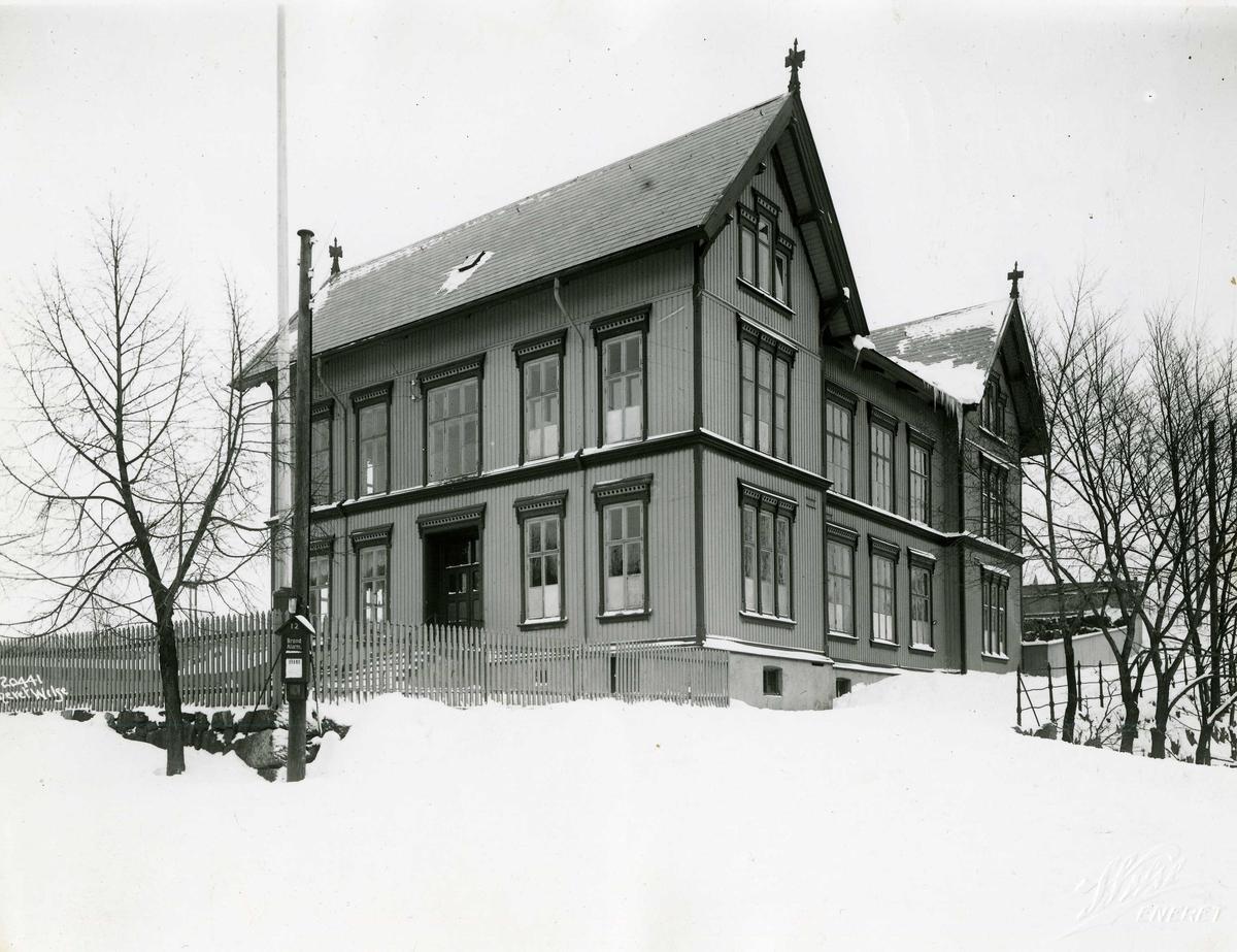 Middelskolen, vinter, 1919.