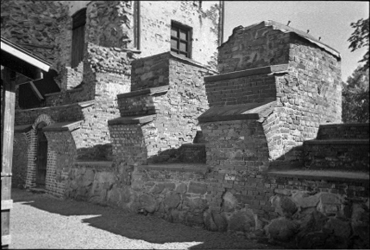 Fornlämning nr. 21. Gräfsnäs slottsruin