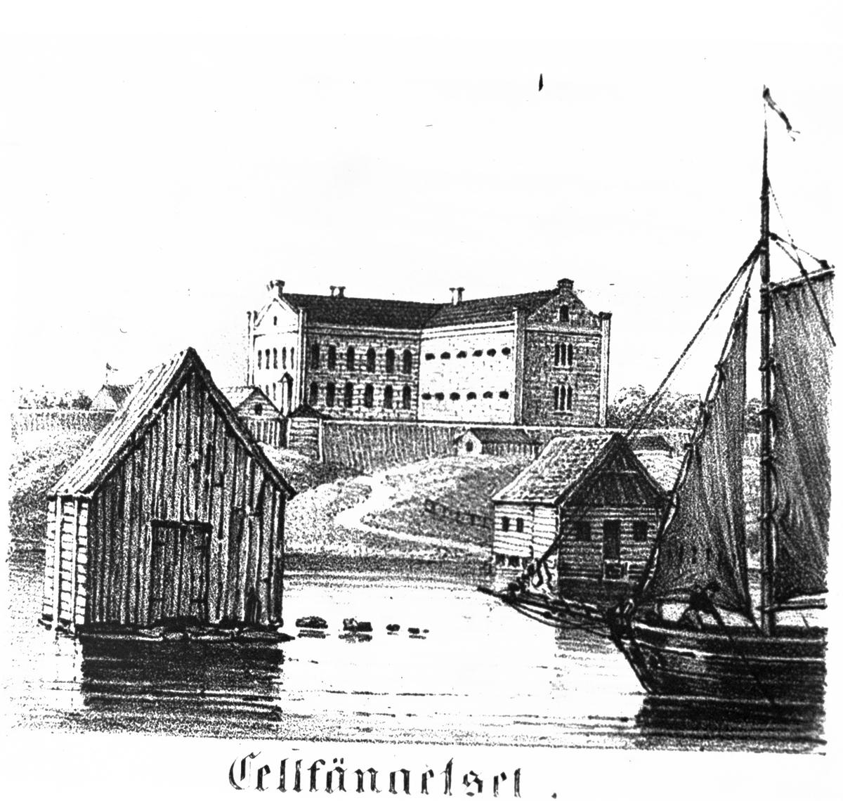 Storhetstid som sjöfartsstad och del av hamnen  Vänersborg