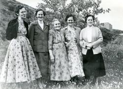 Elise Hansen, Sara Hatland, Erikke Grindvik, Johanna Kvalø o