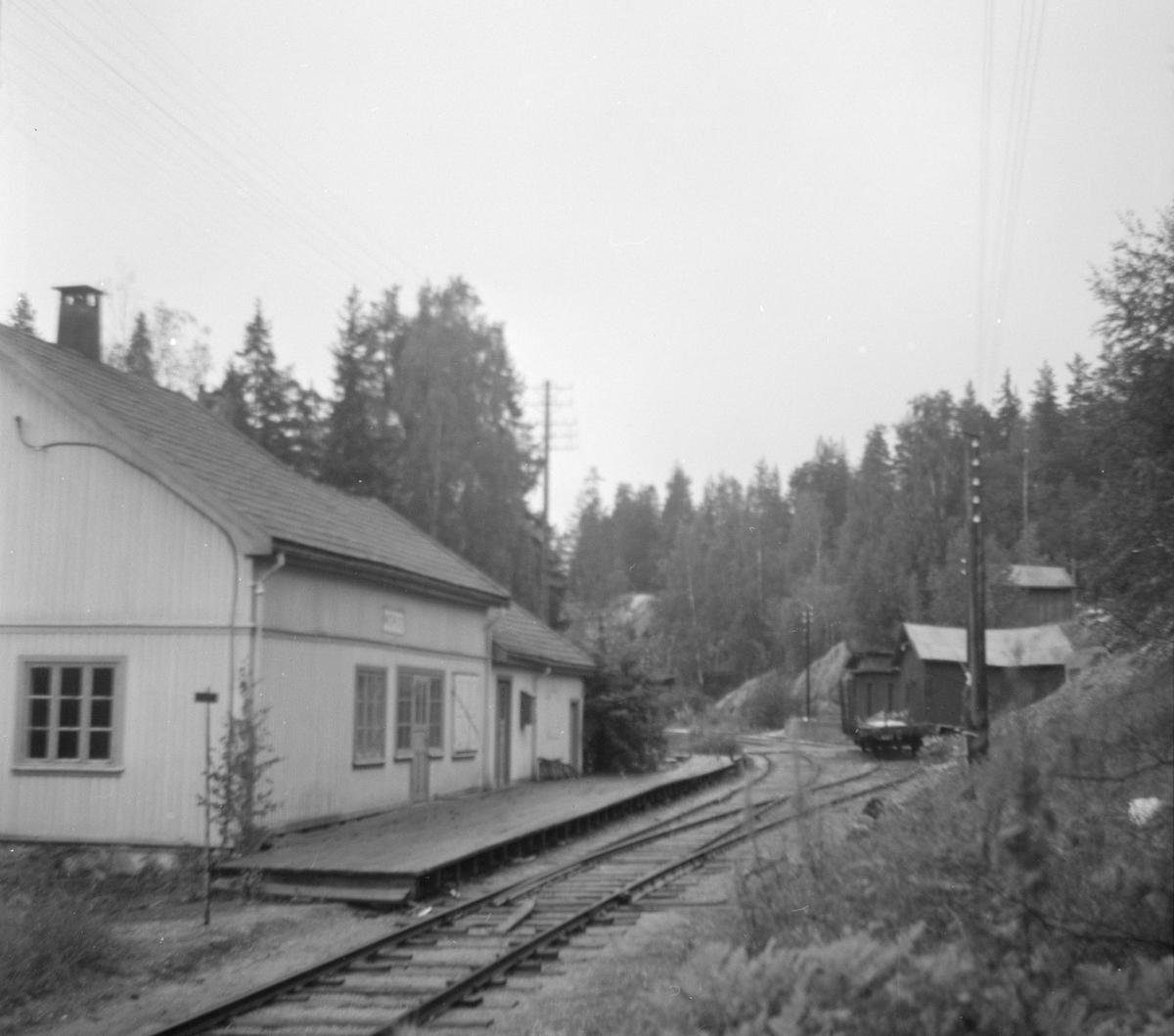 Morud stasjon på Krøderbanen.